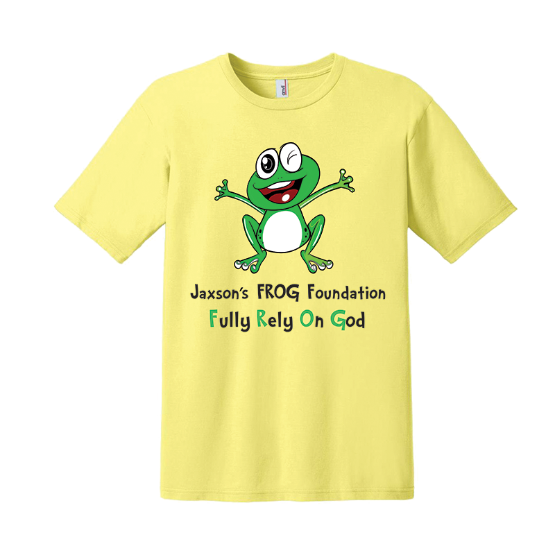 frog tshirt screenprint in san antonio